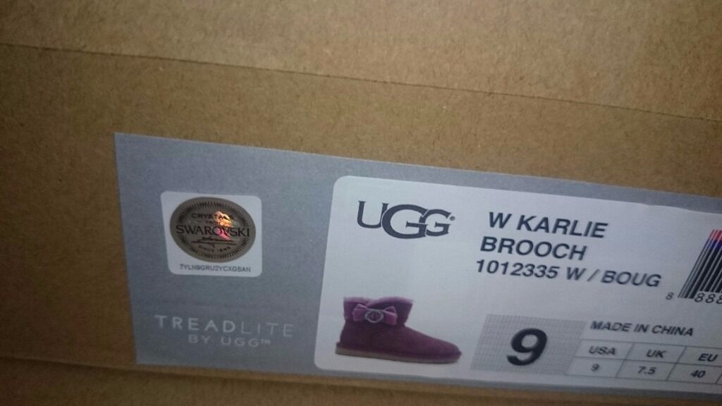 Genuine hologram ugg boots with certificates
