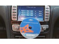 FORD Blaupunkt SAT NAV DVD ROM 2008