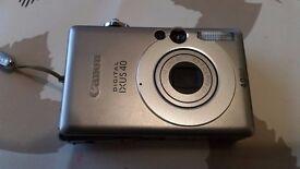 Canon Ixus 40 Digital Camera [4Mp, 3x Optical] - £30