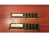 Micron 1GB (2x512 MB) DDR 333 SD RAM