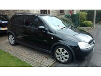 Vauxhall Corsa 1.2 SXi, Black, 2002, Full MOT, 3 former keepers, lots of history