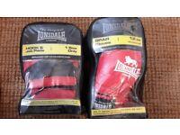 Lonsdale 12oz Spar gloves and hook and jab pads