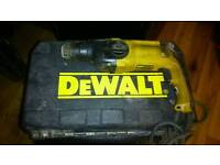 Dewalt 240v drill in case