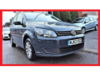 PCO 7 Seater - 2014 Volkswagen Touran 1.6 TDi BlueMotion S -- 63000 Miles -- Glass Pan Roof -- PX OK