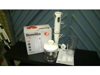 Breville Hand Blender and Chopper - 500 Watt