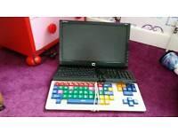 PC screen and keybroads