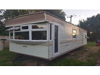 Special Offer 3 bed Static Caravan 35x12 ft. 1500 pounds for quick sale