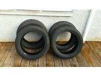 Four winter tyres