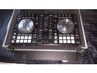 PIONEER DDJ SR CONTROLLER WITH FLIGHTCASE. DJ SERATO ENABLED.