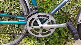 Raleigh M-TRAX road bike.