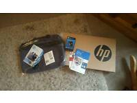 Hp 15.6 inch, 8ghz, 2tb red laptop with bag, mouse and mcafee protection