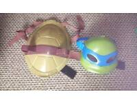 Tmnt shell and talking leo mask