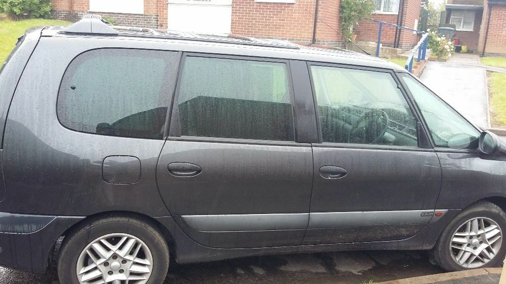 renault espace 2001 2 2 dci 7 seater in swadlincote derbyshire gumtree. Black Bedroom Furniture Sets. Home Design Ideas
