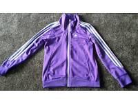 Adidas purple age 11-12