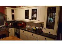 Cream matt kitchen units