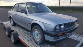 1990 BMW 318I E30 3 SERIES BLUE COUPE 2 DOOR FACELIFT WINTER PROJECT RACE DRIFT