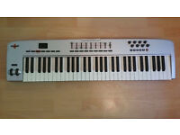 M-Audio Oxygen 61 Key MIDI USB Electric Keyboard for Desktop Laptop Professional or Learning