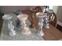 Wedding table decorations-sweet/flower holders??