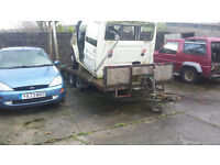 fatbed trailer large beaver tail cars vans bikes tractors 3.5 ton recovery transporter 4x4