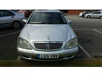 Mercedes s class 51 lpg converted