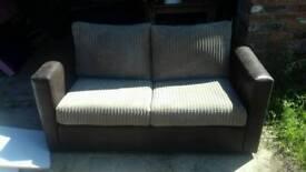 Jumbo cord sofa bed