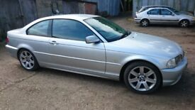 BMW 318 Ci 2002 spares or repair