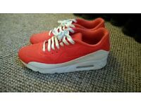 Red Nike Air Max Size 7