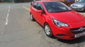 VAUXHALL CORSA 2016 1.3 DIESEL STILL UNDER WARRANTY UNTILL 2019 £0 TAX BARGAIN