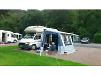 Motor Home / Camper Van Awning - Ventura Freestander
