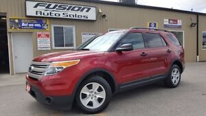 2014 Ford Explorer 1 OWNER OFF LEASE-7 PASS THIRD ROW-DUAL AIR/H