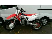 Crf 450 2015 model low hours