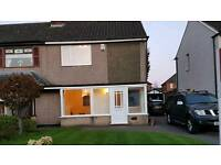 Newly renovated 2 bed semi detached house