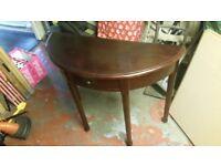 Hall table telephone table