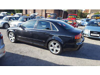 2007 AUDI A4 S LINE TDI 140 6 SPEED 12 M MOT AND 3 M NATIOWIDE WARRANTY TOP CONDITION PERFECT CAR