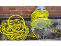 Garden hose over 30m long