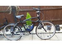 Men's beach cruiser lowrider bike