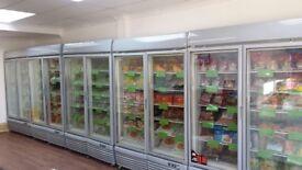 Double Door Display Freezer