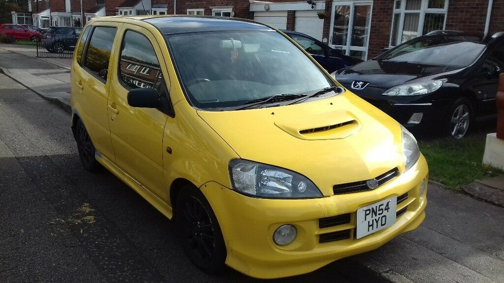 2004 Daihatsu Yrv 130 Turbo 13 16v Auto 5 Door Mot Jan 18 Swap Take