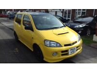 2004 Daihatsu YRV 130 Turbo 1.3 16v Auto 5 Door MOT Jan 18 Swap Take PX Part Ex Like Toyota Starlet