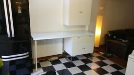 IKEA Floor Standing Kitchen Storage Unit. Free Worktop included! Less than one year old!