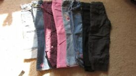Girls trouser bundle 4-6 years Next ,M& S etc