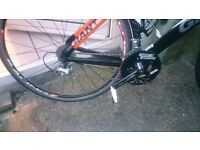 Giant trinity 1 with full 105 comes with helmet and spare TT BARS