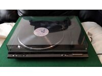 Technics SL-BD22D HiFi separates turntable. Semi-automatic record player.
