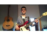 Bass Guitar and Music Theory Lessons in Paisley/Glasgow Area