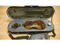 Viola strung 1/2 size Violin Stentor Outfit