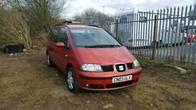 Seat Alhambra SE - 1.9L TDI Turbo Diesel - 7 Seater - Ideal family car, drives great!