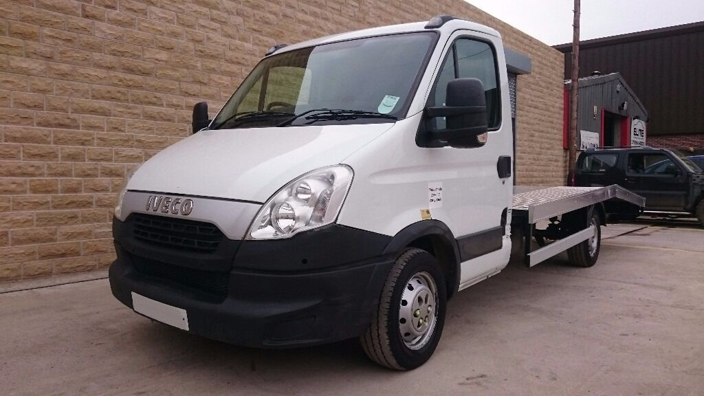 Iveco Daily 35s12 2012 62 reg recovery truck with new body abd winch 90k miles