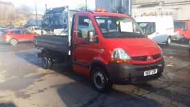 2007 / 57 PLATE Renault Master 2.5 D DCML35 Tipper2dr (MWB) Low Milage for Ye...