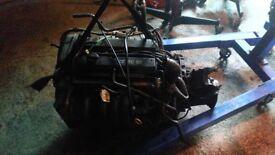 Fiesta zetec s 1.6 engine and gearbox
