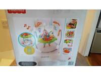 Fisher price roaring rain forest jumperoo